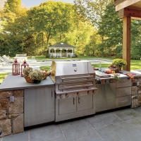 The Rainmaker Team Smart Stylish Designs For Outdoor Kitchens